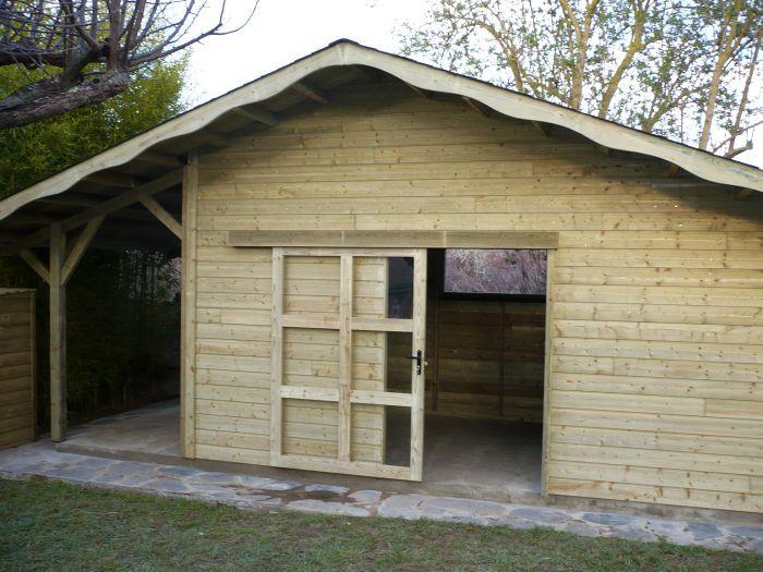 Gonon bois am nagement ext rieur en bois abris for Porte bois exterieur jardin